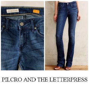 Pilcro and the Letterpress Low Rise Straight👖